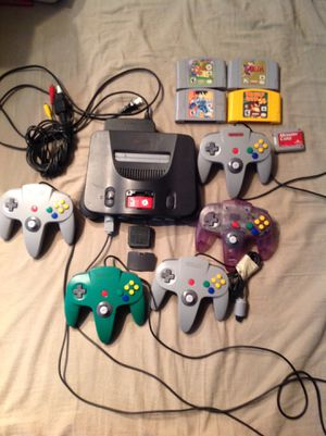 Nintendo 64. Everything you need for Sale in Centralia, WA
