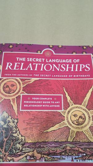 Secret Language of Relationships for Sale in Windsor Hills, CA