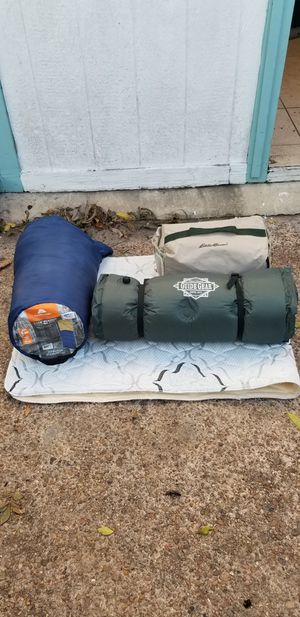 SLEEPING BAGS and AIR MATTRESS for Sale in Houston, TX