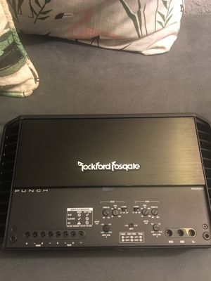 Rockford Fosgate 600W (P600x4) Amplifier for Sale in Celebration, FL