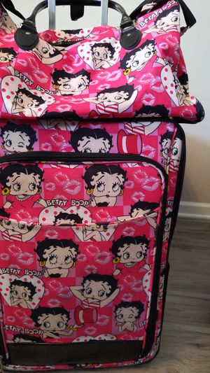 Betty Boop Suitcase and Duffle Bag for Sale in La Vergne, TN