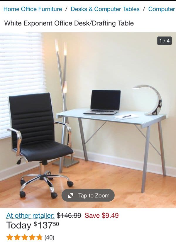 Office chair and desk