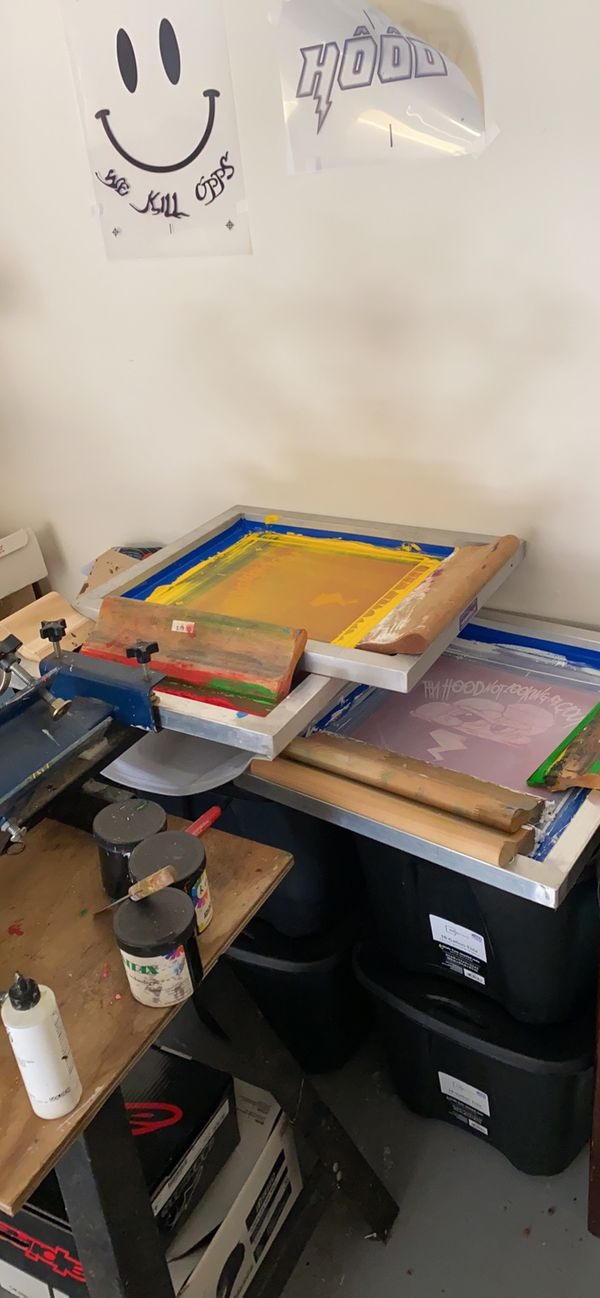 Small Screenprinting business
