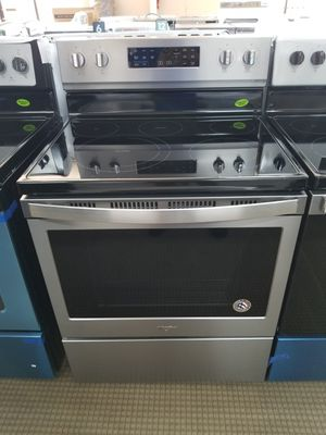 🏁New Whirlpool Glass Top Stove at Appliance Outlet @ 7530 North Frwy, Houston, TX 77037🔖Only $39 down, no credit check, no interest! for Sale in Spring, TX
