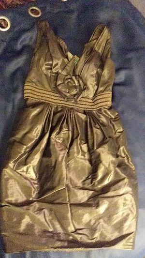 Carmen Marc Valvo Gold Dress for Sale in Seattle, WA