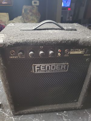 Fender amp for electric guitar for Sale in Kalamazoo, MI