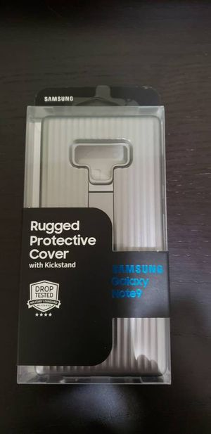 Galaxy Note9 Rugged Protective Cover (Silver) for Sale in Poway, CA