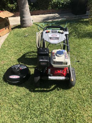 Simpson Gas Pressure Washer 3500 for Sale in Fontana, CA