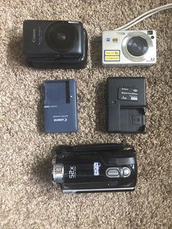 Digital cameras / recorder (Canon/Sony/Samsung) for Sale in Denver,  CO