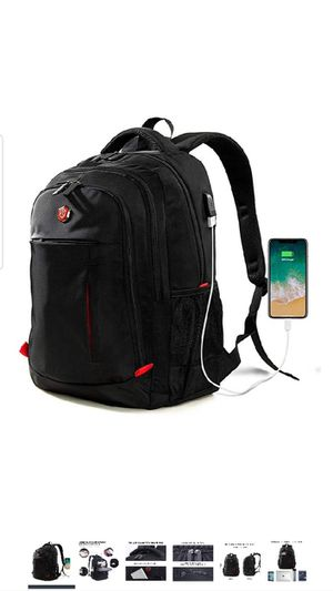 Laptop Backpack, Travel Waterproof Computer Bag , Anti-theft high School College Bookbag, Business Backpacks with USB Port Fits 15.6inch Laptop for Sale in Queens, NY