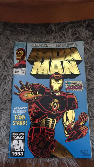 30th ANNIVERSARY ISSUE IRON MAN COMIC for Sale in Long Beach, CA