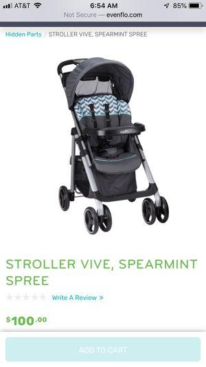 Evenflo Vive Stroller for Sale in Silver Spring, MD
