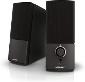 Bose Companion 2 Series III Multimedia Speakers - for PC (with 3.5mm AUX & PC input) W: 3.1 in; L: 5.9 in; H: 7.5 in for Sale in La Jolla, CA