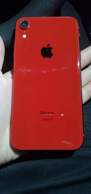 iPhone XR RED 64GB ATT Phone for Sale in Seattle, WA