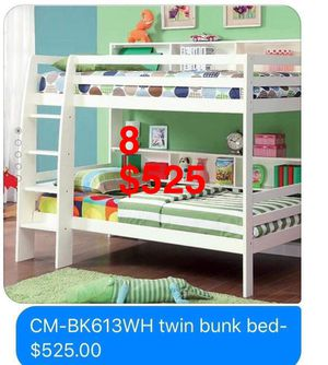 Bunk bed. Trundles are $85. Mattresses are extra. Assembly required. Free delivery. for Sale in City of Industry, CA