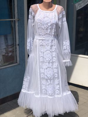 White dress,Ukrainian national clothing for Sale in Schaumburg, IL