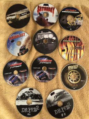 11 Used Off Road DVDS, most never used. for Sale in Oak Park, CA