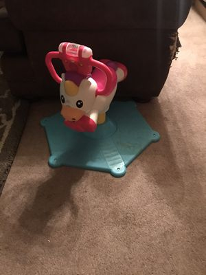 Fisher price bounce and spin for Sale in Apache Junction, AZ