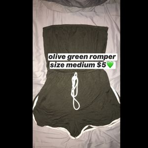 Olive green romper for Sale in Dinuba, CA