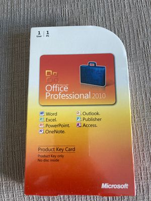 Brand new Microsoft Office Professional 2010- retails for $349!!!!! for Sale in Redondo Beach, CA