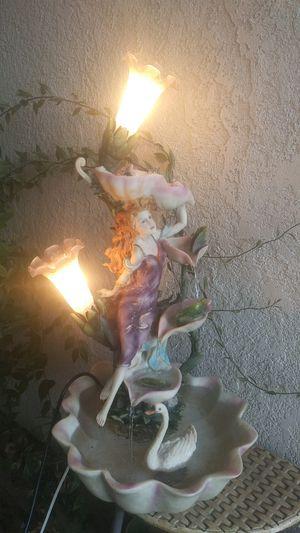Water fountain lamp for Sale in Modesto, CA