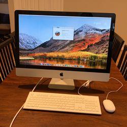 """27"""" iMac 16GB DDR3 RAM, 128GB SSD + 1TB Intenal HD for Sale in North Bend,  WA"""
