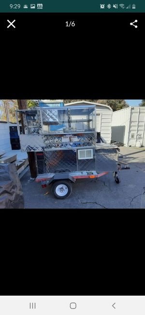 Hot dog cart with trailer for Sale in Covina, CA