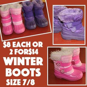 Snow boots, gym shoes, sandals, kids shoes - scroll for all prices and sizes for Sale in Longmont, CO
