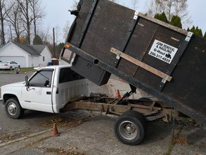 Chevy c3500 flatbed dump for Sale in Kent, WA