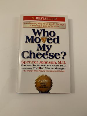 Who Moved My Cheese? Book for Sale in San Mateo, CA