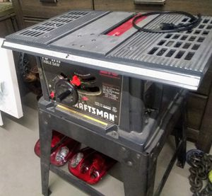 "Craftsman 10"" Table Saw Missing Square Arm for Sale in Peoria, AZ"