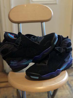 Jordan Aqua 8s Size 8 2015 pair PRICE NEGOTIABLE !!! for Sale in New York, NY