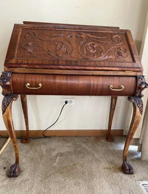 Antique writing desk for Sale in Homer Glen, IL