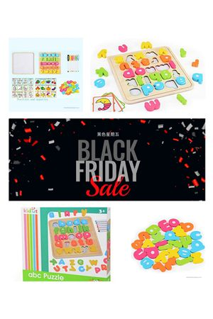 Black Friday/Play and learn /Toys for kids Educational Wooden White Board for Sale in Rowland Heights, CA