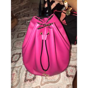 Juicy Couture hot pink backpack purse for Sale in Deltona, FL