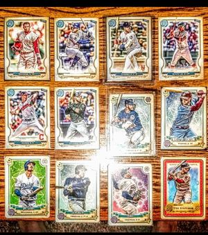 RARE GYPSY QUEEN BASEBALL CARD LOT ALONSO, ACUNA, HARPER, NO NAME, SP, VARIATION for Sale in Fresno, CA