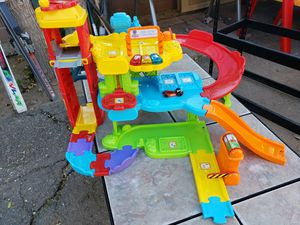 Kids toys vtech park & learn deluxe garage for Sale in Phoenix, AZ