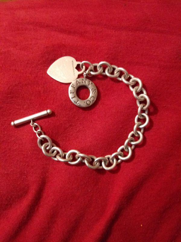Tiffanys bracelet used with heart