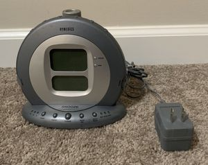 HOMEDICS SS-5000 SOUND SPA PROJECTION ALARM CLOCK 6 NATURE SLEEP SOUNDS for Sale in Chapel Hill, NC