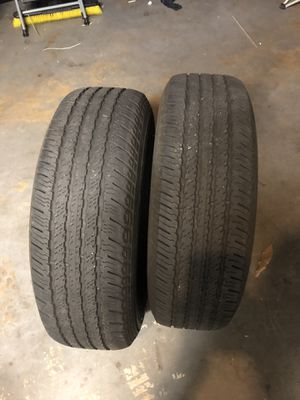 (2) 245/75/16 hankook dynopro used tires for Sale in Tampa, FL