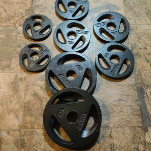 New*** 100 Lb Olympic Weight 2inch Holes for Sale in Tacoma, WA
