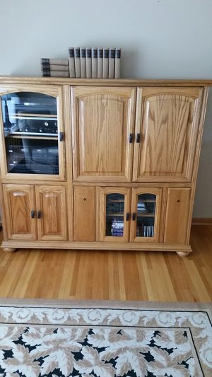 Entertainment center for Sale in Fridley, MN
