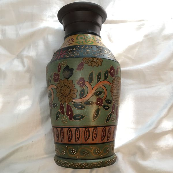 African Boho Style Vase For Sale In Boca Raton Fl Offerup