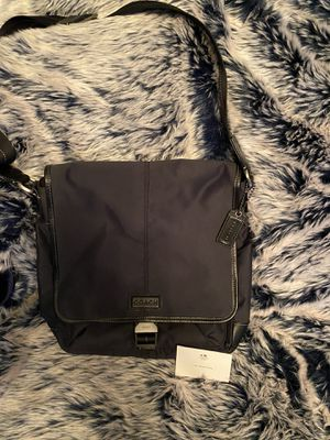 Authentic Coach Varick Nylon Messenger / Map Bag for Sale in New York, NY