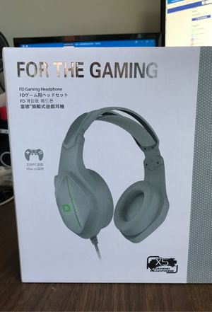 Did x5!wired 7.1 surround sound headphone gaming headset with mic for Sale in Boca Raton, FL