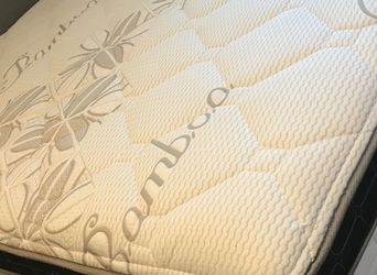 💥ALL SIZES AVAILABLE!! FOR DELIVERY 🚚 WILL DELIVER ANYWHERE NO MATTER THE TIME OR DAY‼️‼️‼️ BAMBOO MATRESS Queen $200❌ $260 With Box Spring 💥 for Sale in Los Angeles,  CA