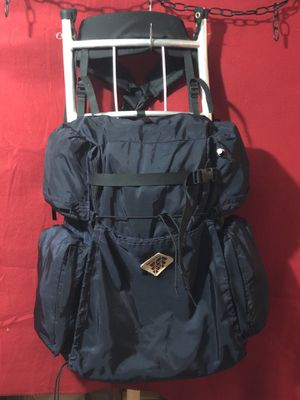 Backpack,Camp trails External Aluminum Frame Backpack, Hiking Camping .Made in USA 🇺🇸 for Sale in Aurora, IL