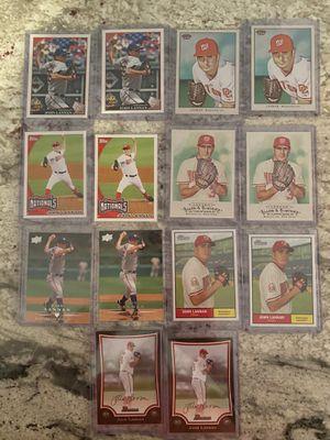 John Lannan Baseball Card Lot for Sale in Vienna, VA