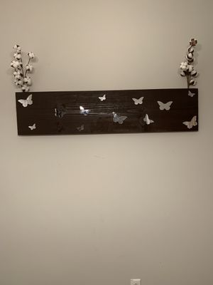 Butterfly Wall Art!(Cotton stems are not included) for Sale in Murfreesboro, TN