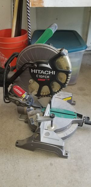 "C10FCH2 10"" Compound Miter Saw with Laser Marker for Sale in Fresno, CA"